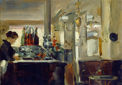 Bon Bock Café by Edouard Manet